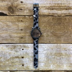 4 for $20 Charming Charlie Leopard Meow Watch